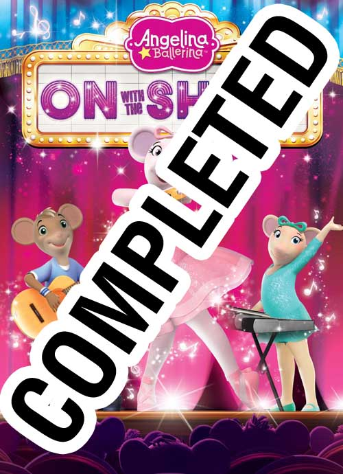 Angelina Ballerina On With The Show Dvd Giveaway Family Choice Awards