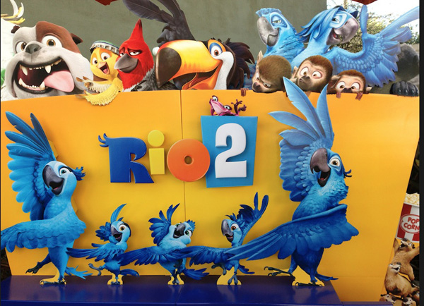 A sneak peek at rio 2 family choice awards the 2011 animated movie rio was nominated for an academy award for its music when rio 2 hits the theaters there will be plenty more music and just as much voltagebd Images