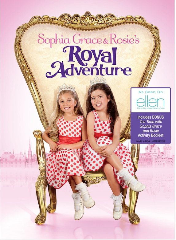 be488dbec99de1 Sophia Grace   Rosie s Royal Adventure DVD