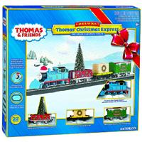 Thomas The Train Christmas Set.Ho Scale Thomas Christmas Express Ready To Run Electric