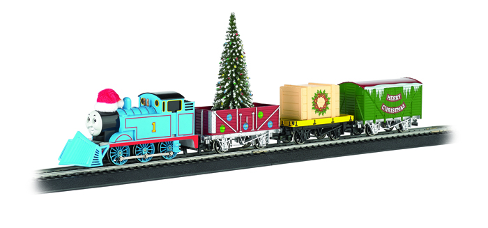 HO Scale Thomas Christmas Express Ready-to-Run Electric Train Set