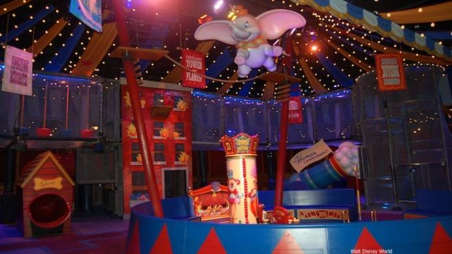 inside dumbo disney