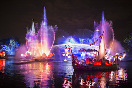 Rivers of Light at Disney's Animal Kingdom at Night