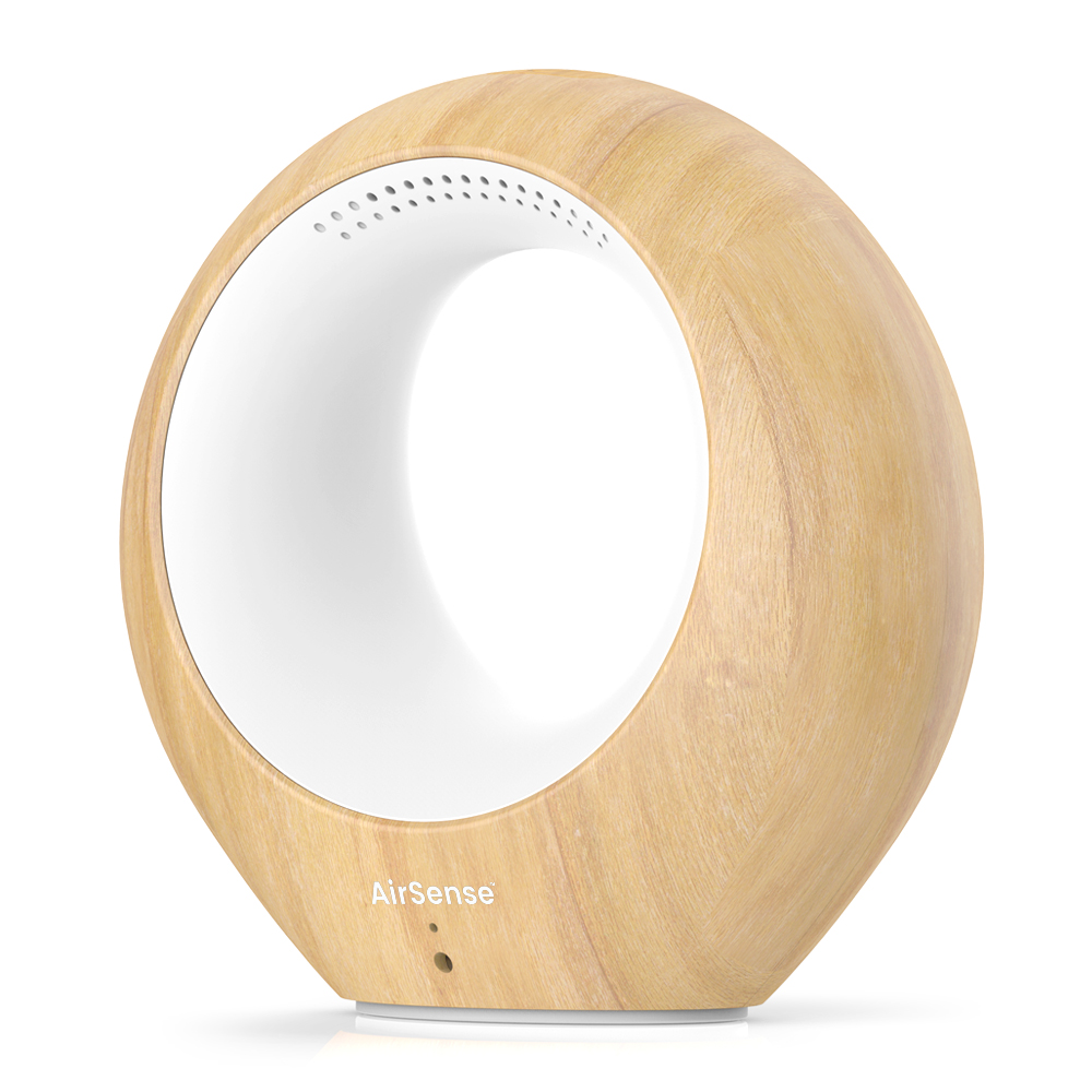 Best Color Temp For Shop Lights: AirSense Smart Air Quality Monitor & Ion Purifier, Two-way