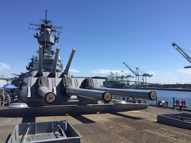 Visit the USS Iowa Battleship in LA Harbor | Family Choice