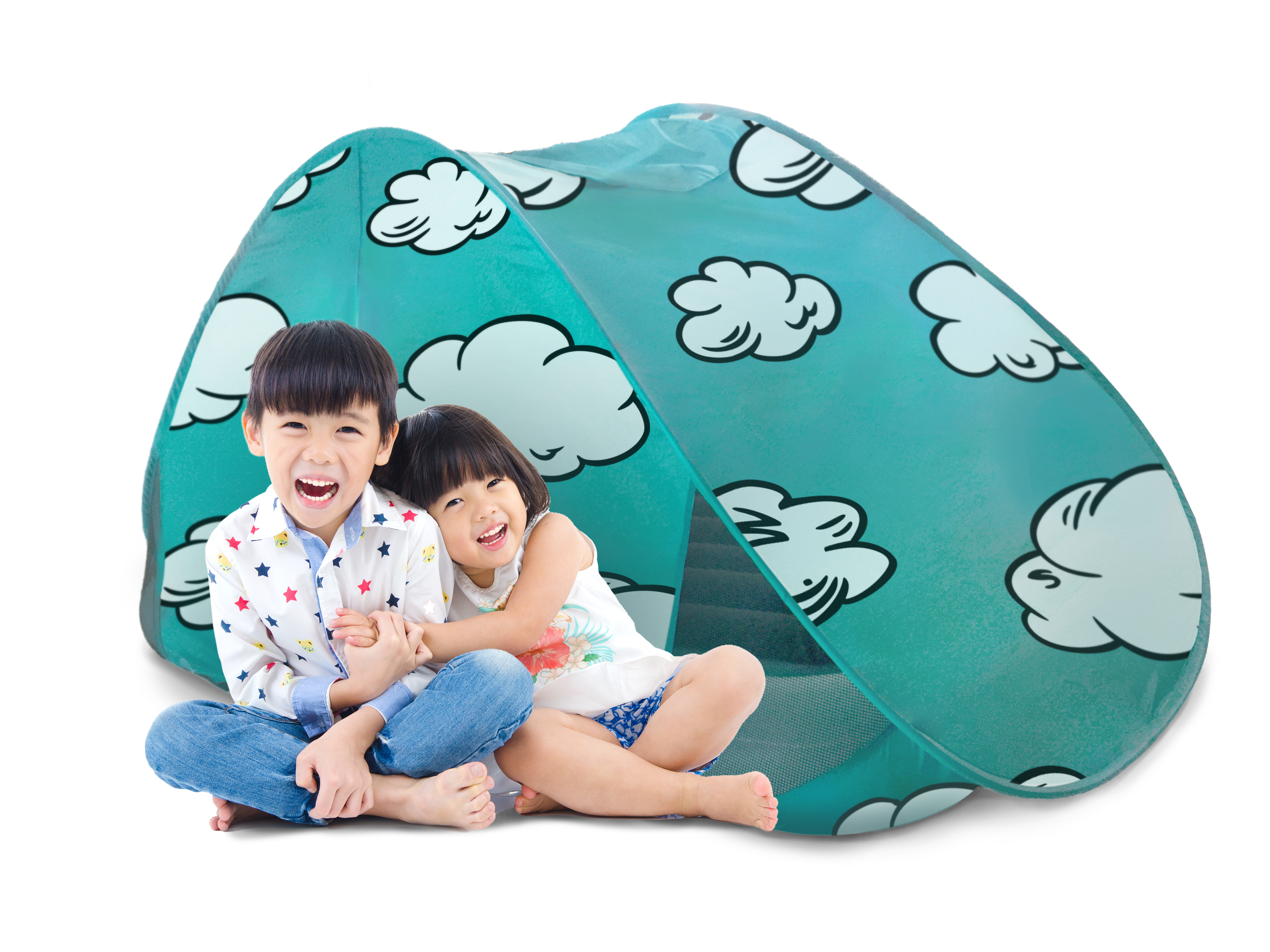 The Shrunks Indoor Toddler Bed Tent