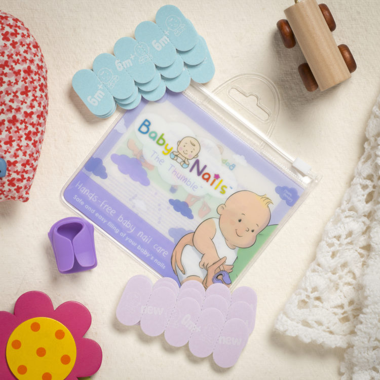 The Thumble Wearable Baby Nail File Is A Safe And Simple To Use Usable From Birth Great Alternative Scissors Or Clippers