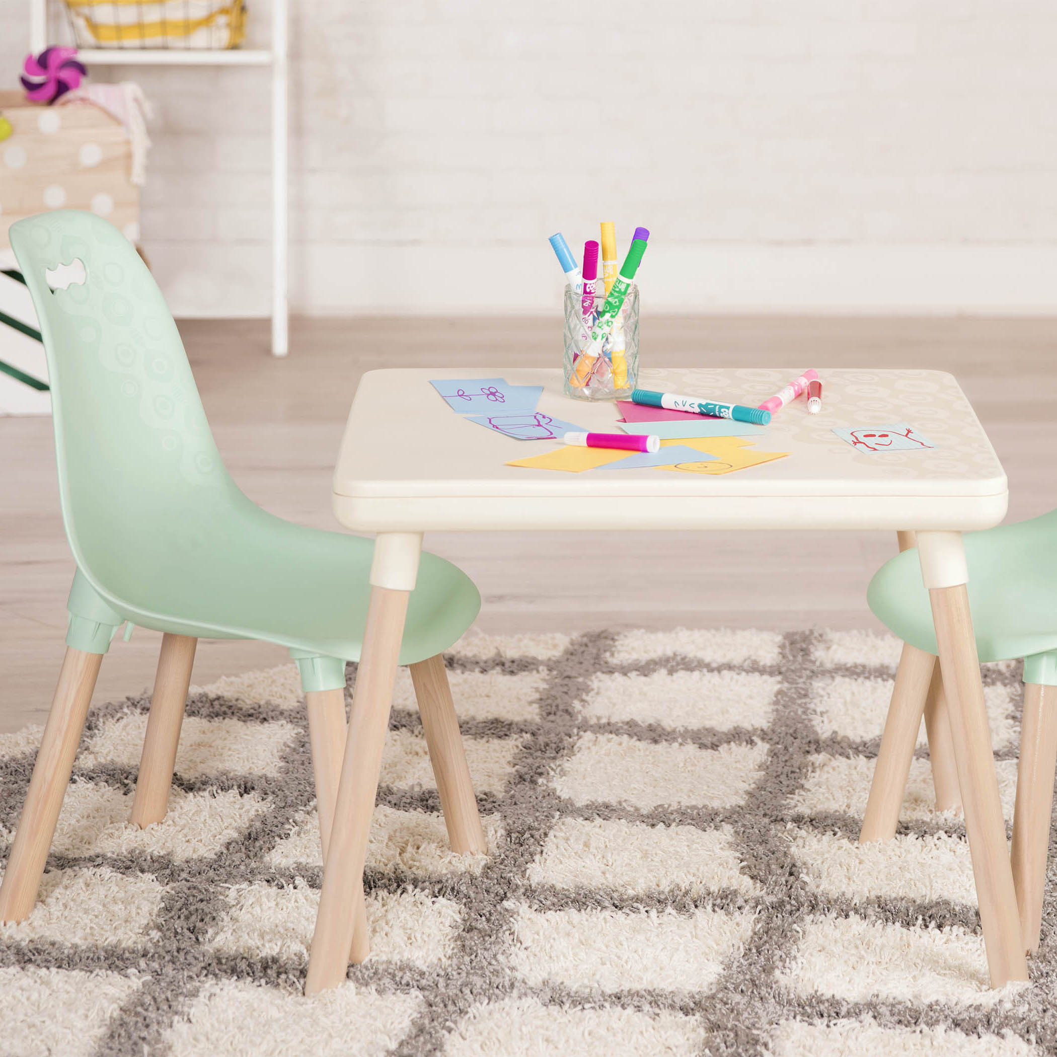 Fine Kid Century Table And Chair Set B Toys Family Choice Awards Pabps2019 Chair Design Images Pabps2019Com