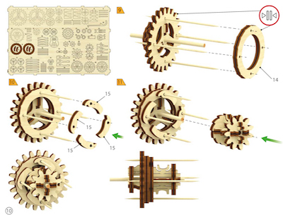 Wooden mechanical models for a fun family activity | Family