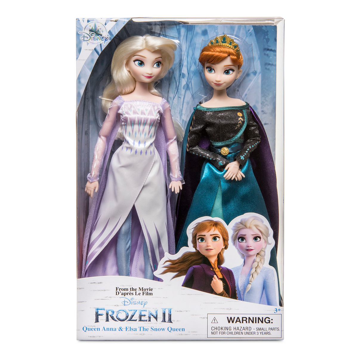 Frozen 2 Doll Set Of 2 Queens And Costumes For Girls
